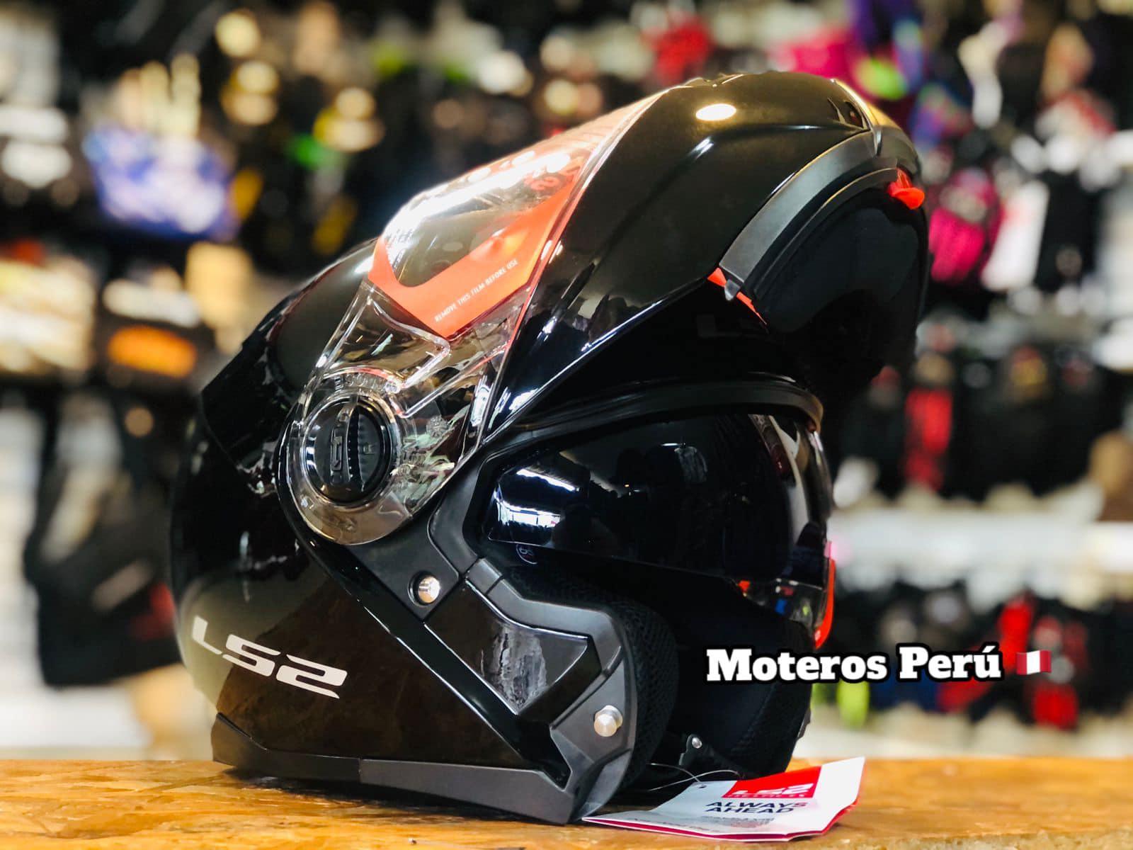 Venta cascos abatibles Perú