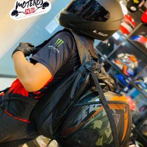 Mochila Porta Casco de Moto